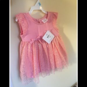 NWT Adorable Hanna Andersson Pink Baby girl dress